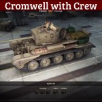 Cromwell with Crew