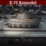 German E-75 Remodel