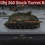 KV-122 Remodel Obj 260 Turret Swap