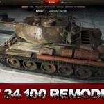 T-34-100 Remodel
