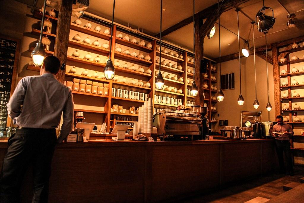 Isla's Coffee & Crumbs - Coffee Shop Interior