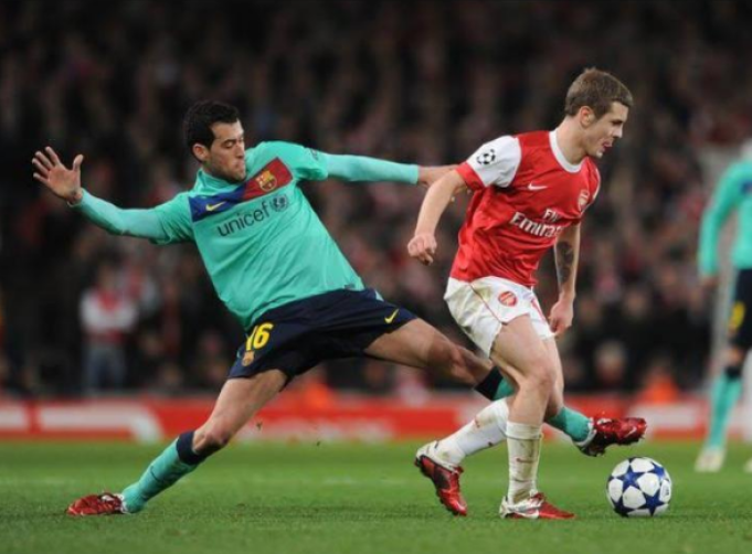 """""""They Spent The Night In My Pocket"""" - Ex Arsenal Midfielder Jack Wilshere Jokes When Asked About Xavi And Iniesta"""
