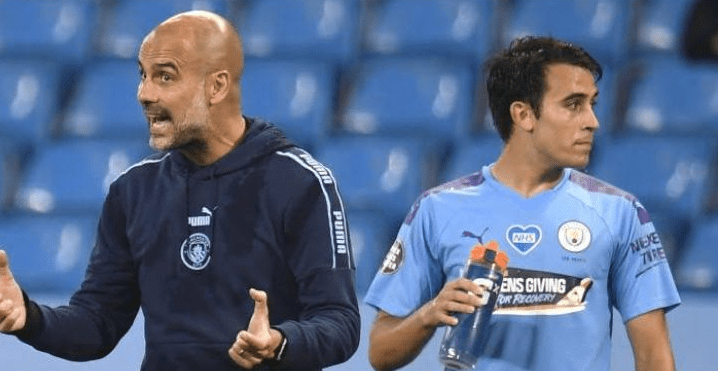 """""""The Market Closes Soon And For Now He Is Our Footballer""""- Pep Guardiola Says On Eric Garcia"""