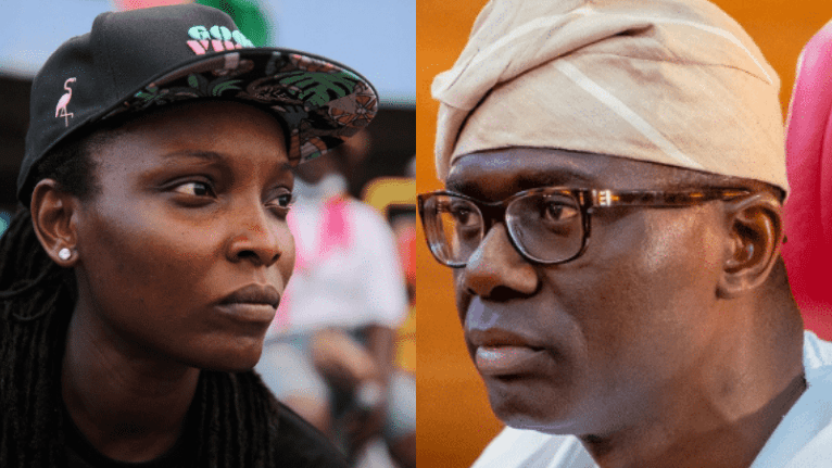 More Information On #OccupyLekkiTollGate As DJ Switch Throws Heavy Shade At Governor Babajide Sanwo-Olu
