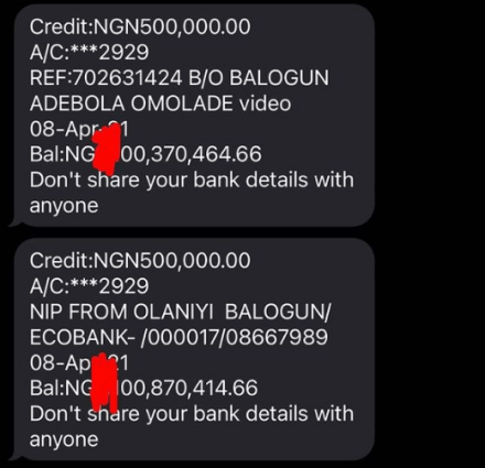 Bobrisky Now Worths Far Over $500,000 As She Reveals Her Account Balance Due To Pressure On Her From Fans