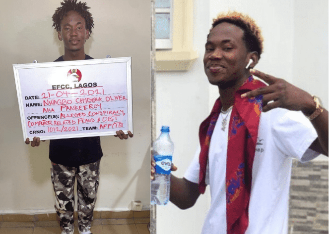 EFCC Arrests Famous Instagram Comedian Pankeeroy With 34 Others For Suspected Internet Fraud And More