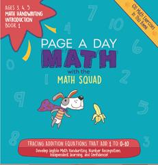 page a day math 1