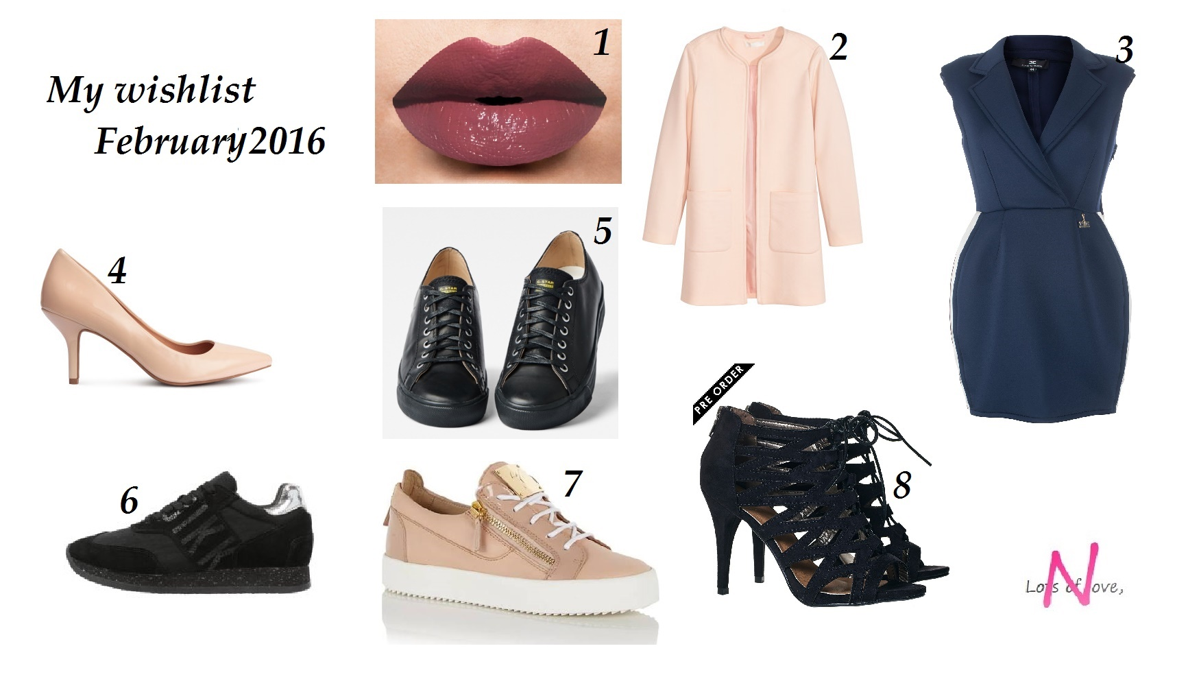 My February wishlist