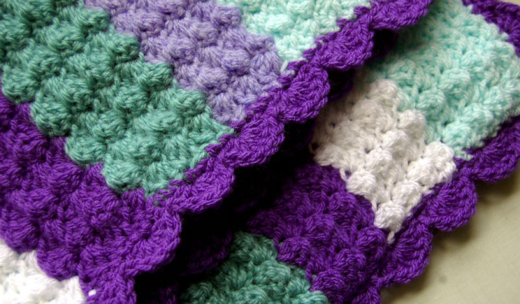 Quick And Easy Crochet Baby Blanket Home Garden Improvement