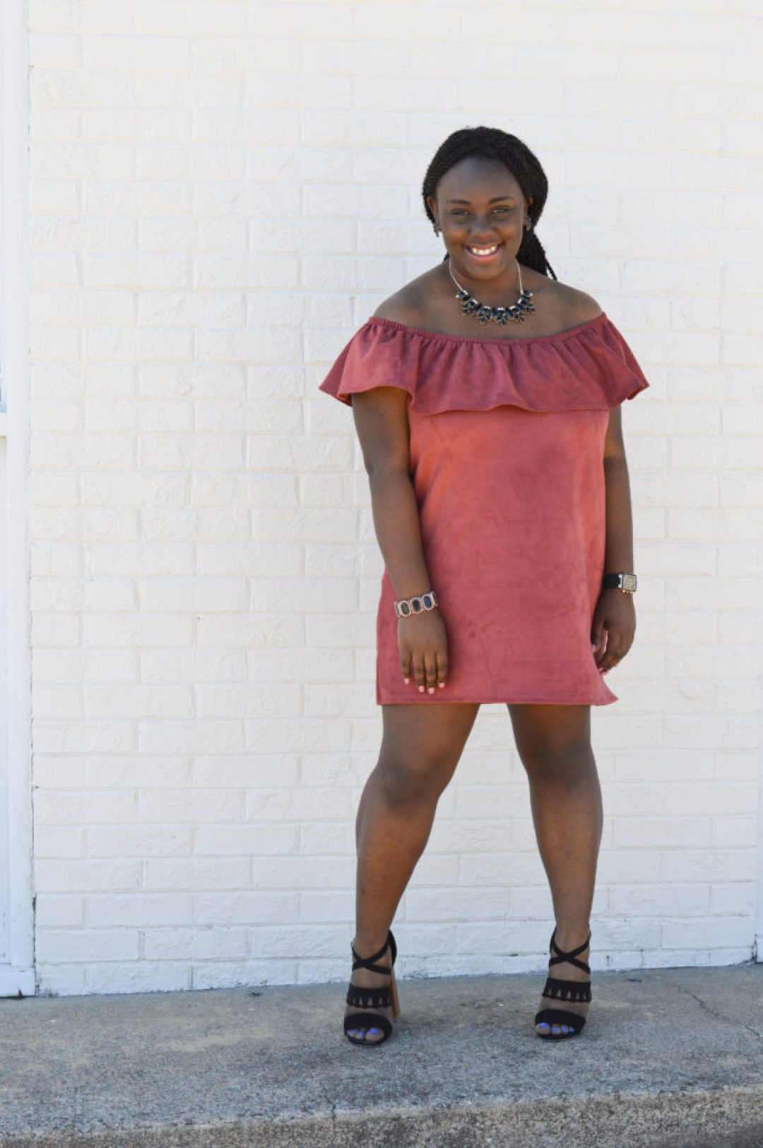 Styling a OTS dress