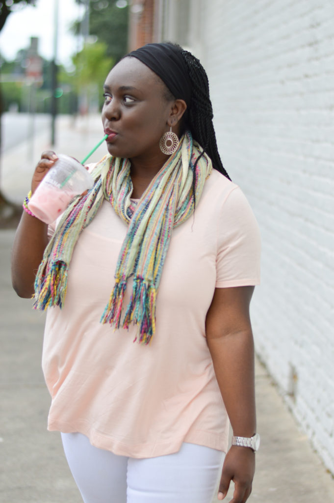 Styling Scarves during the summer
