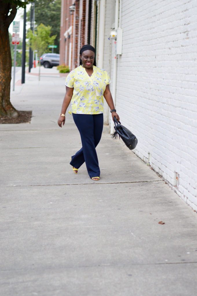 Work wear-cabi clothing-north carolina-blogger-rewardstyle-sponsored-black girls who blog-
