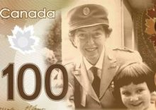 Lotta Hitschmanova on a Canadian bank note