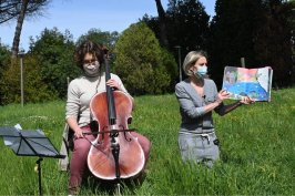 Lotta lettura sonora con violoncello