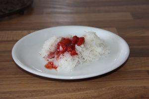 Ayurvedisches Chutney mit Erdbeeren