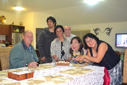 Family in Brisbane- Thank Tita Angela, Uncle Joe, Kuya Mark and Tita Josephine!