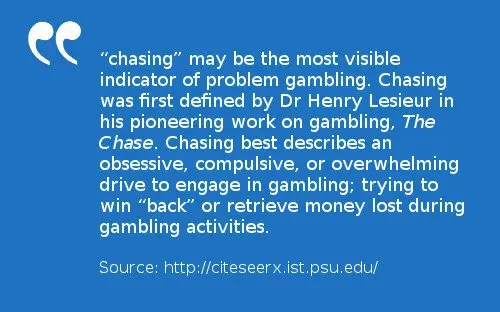 Chasing losses in the lottery may also be evident. Chasing the money you previously lost is a sign that you are at risk of lottery addiction. Chasing losses may be the most visible evidence of gambling addiction according to Dr. Henry Lesieur.
