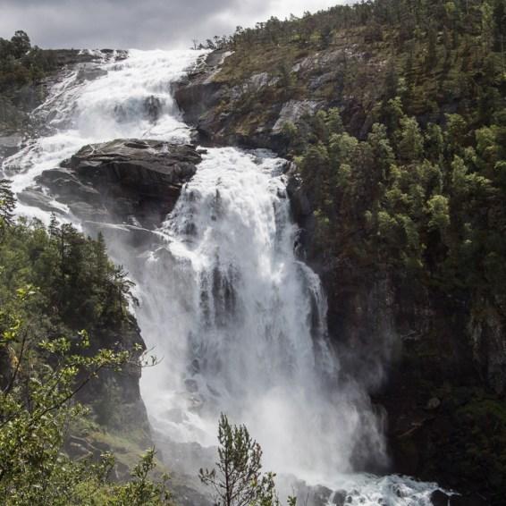Wasserfälle Husedalen