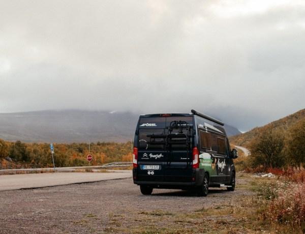 Anreise mit dem Camper nach Schweden