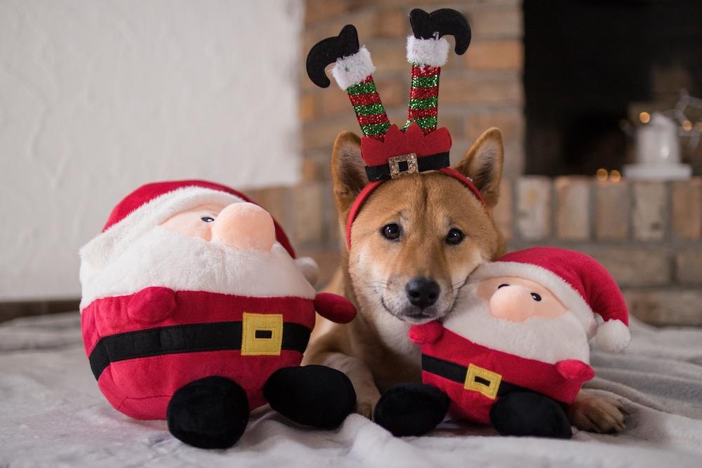 Wolters Plüschball Weihnachtsmann