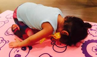 Turtle, Child Pose (Yoga Mudrasana)