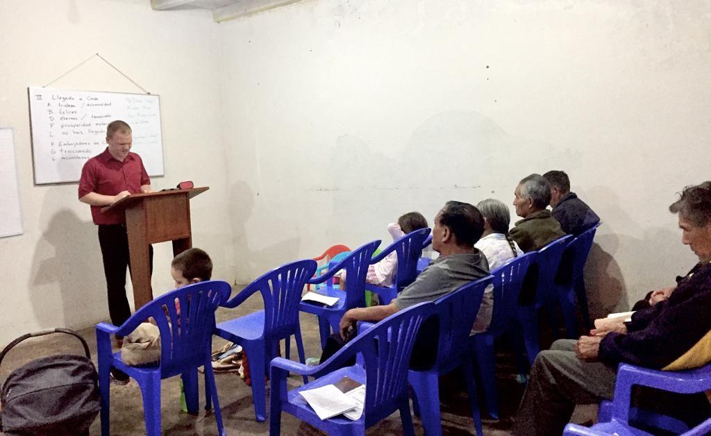 Preaching Church Plant Vitoc