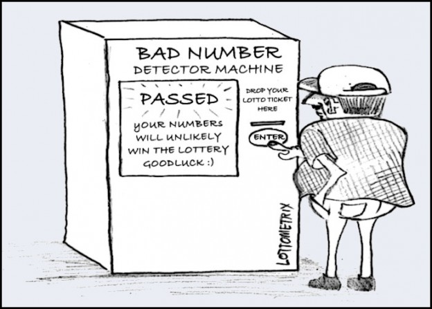 If there was a machine that could tell you about bad lottery numbers, would your numbers pass or fail?
