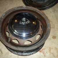 Original steel wheels for the Lotus Europa