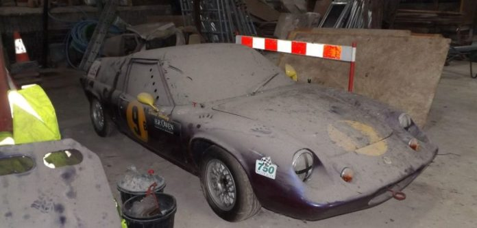1970 Lotus Europa S2 barn find