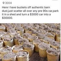 Barn Dust (Increases car value x10)