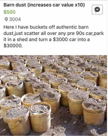 Barn Dust For Sale