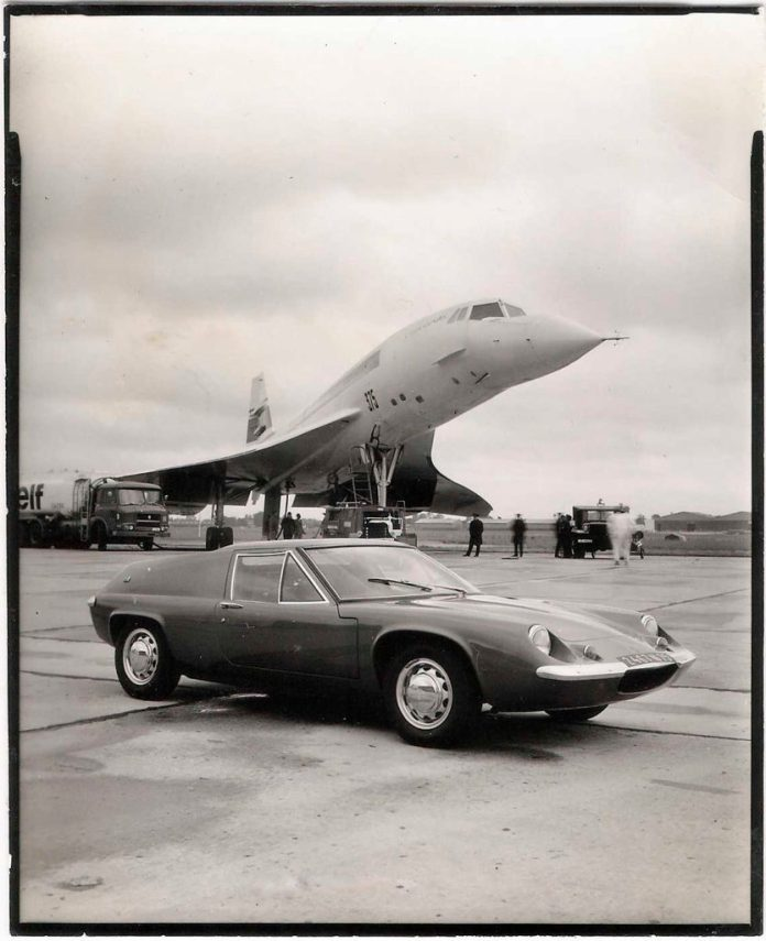 Lotus Europa and Concorde
