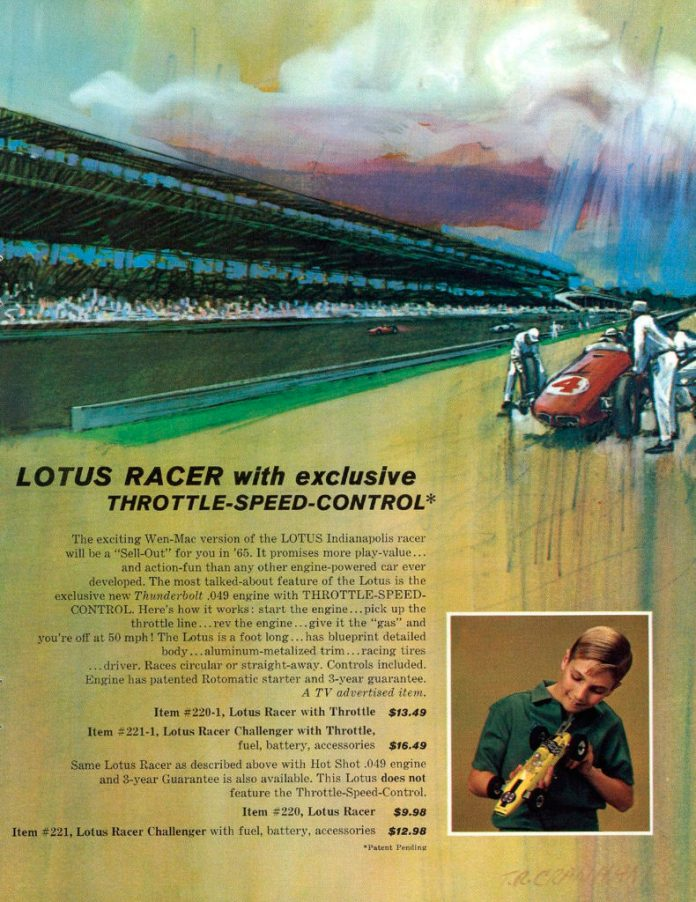Wen-Mac Lotus Racer