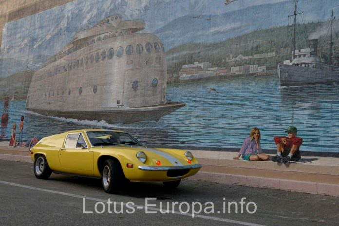 Lotus Europa in Port Angeles