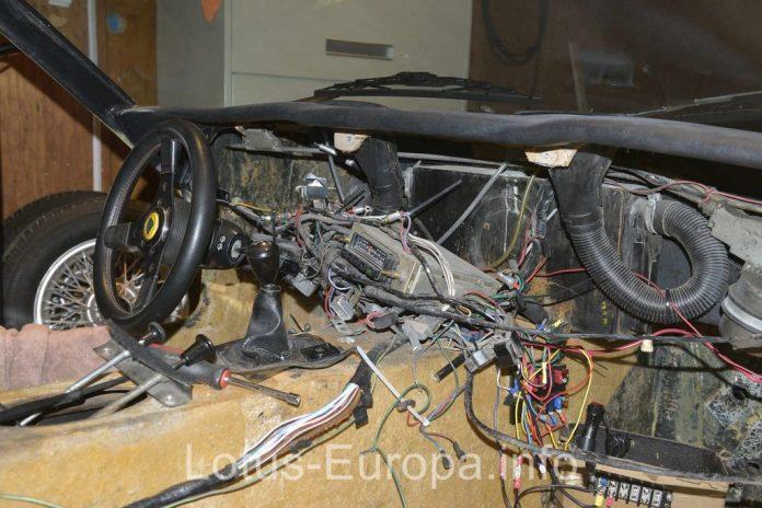 Lotus Europa S2 dash wiring