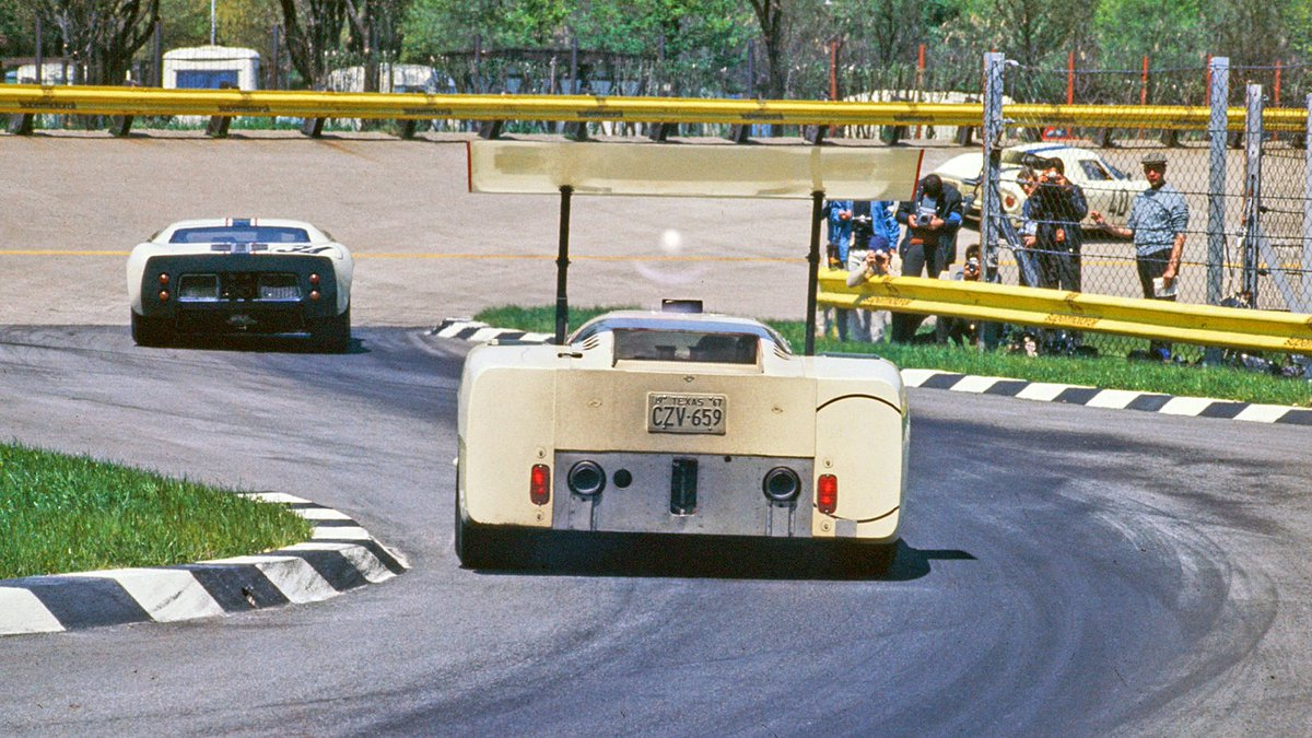Chaparral 2F of Spence/P.Hill – Monza 1967
