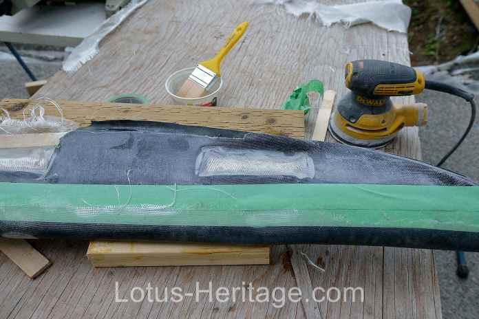Lotus Europa dash pad cover