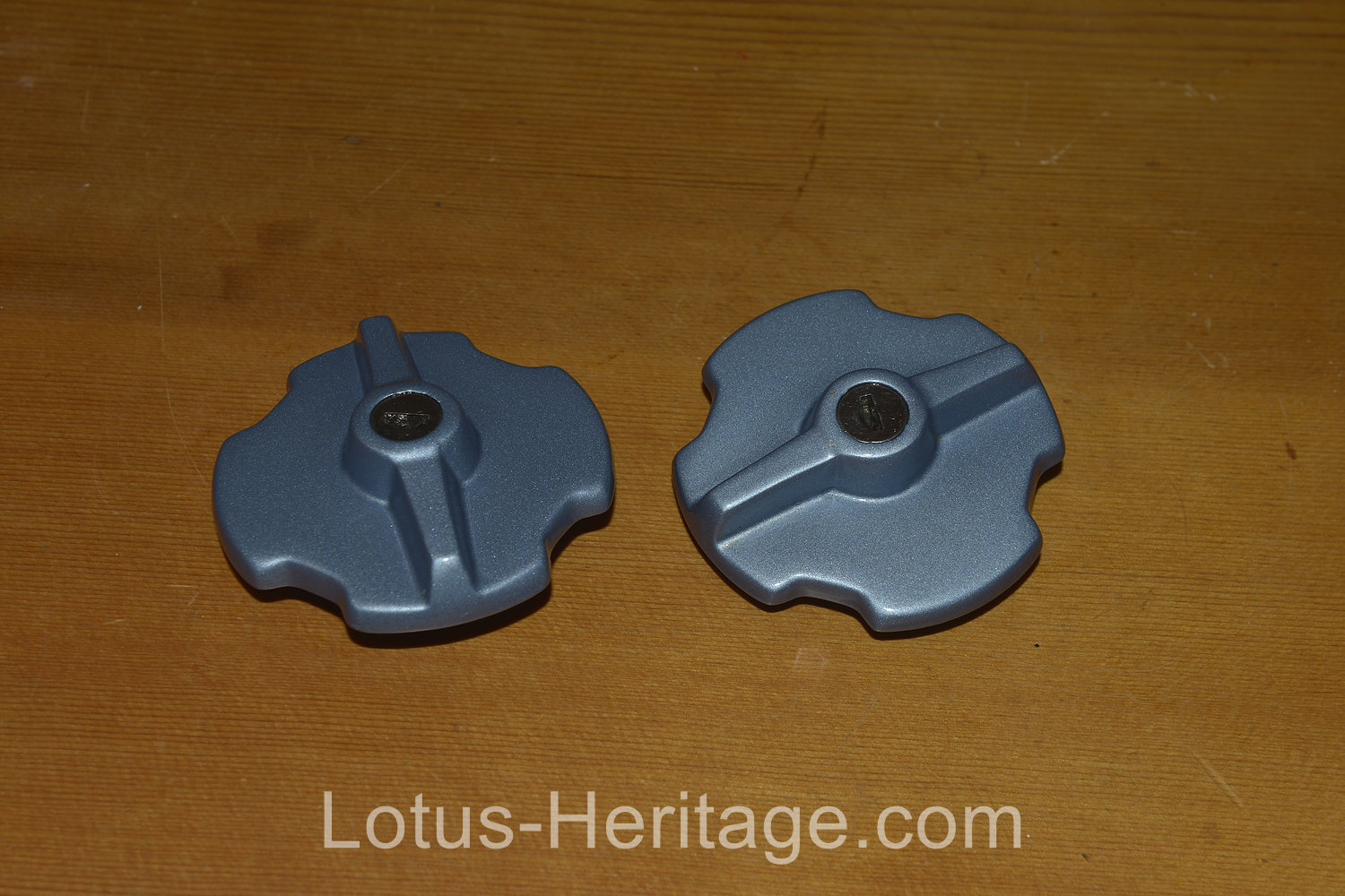 1986 Lotus Esprit Turbo fuel tank caps