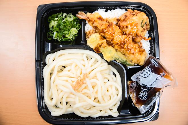 麺セット(天丼)