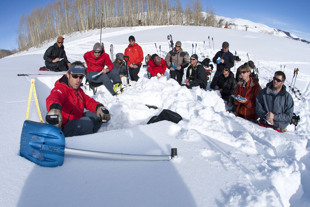 Crested Butte Colorado AIARE Avalanche Course