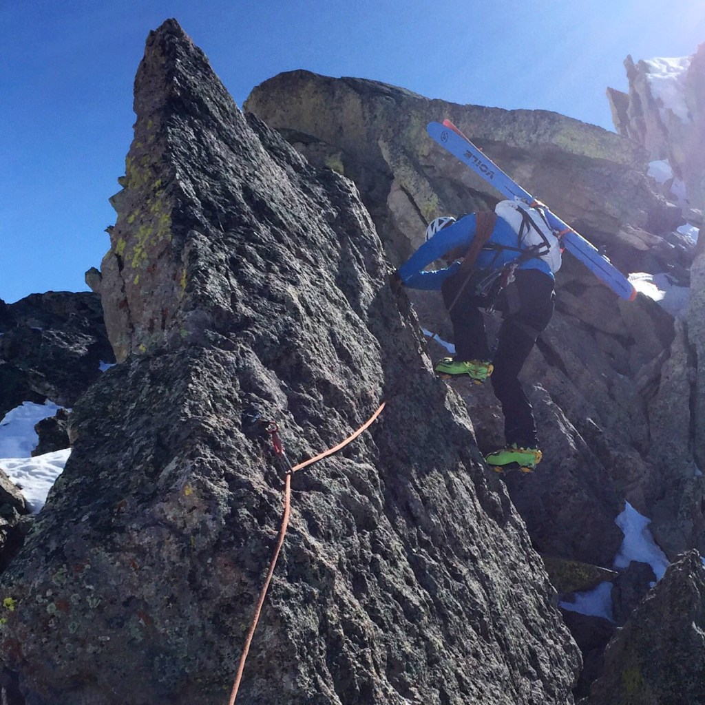 Ski Mountaineering, Mt Crested Butte's Guides Ridge 2016
