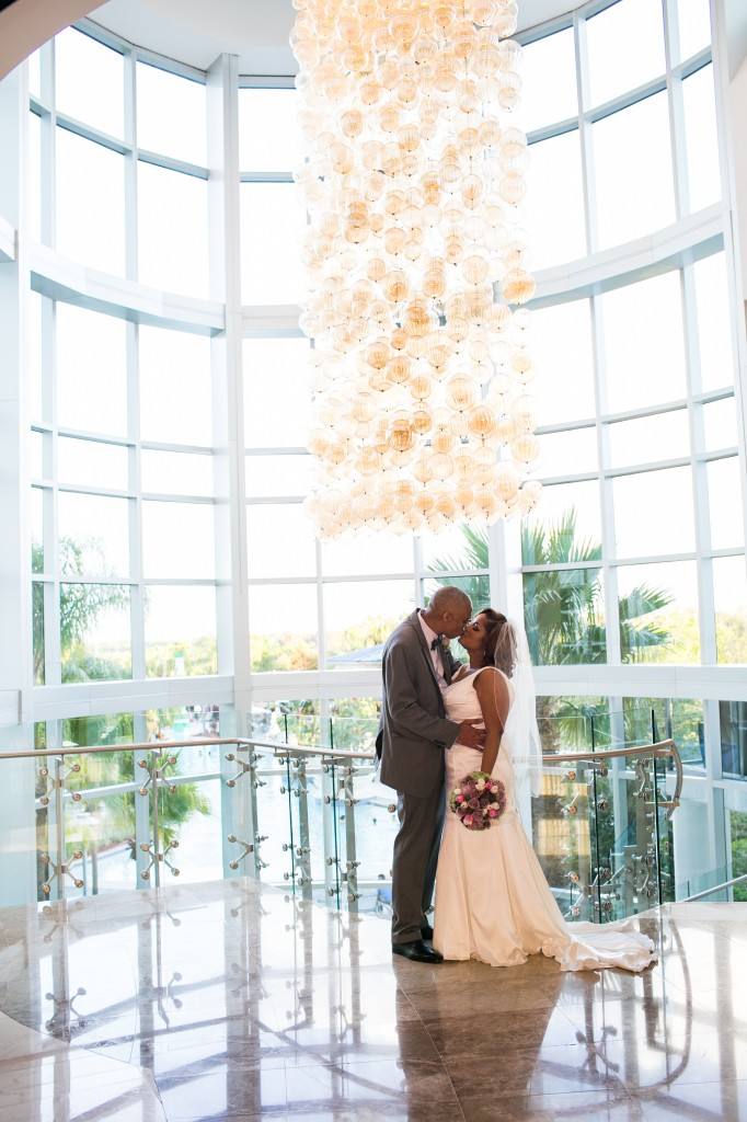 Fiona And Andres Hilton Orlando Destination Wedding