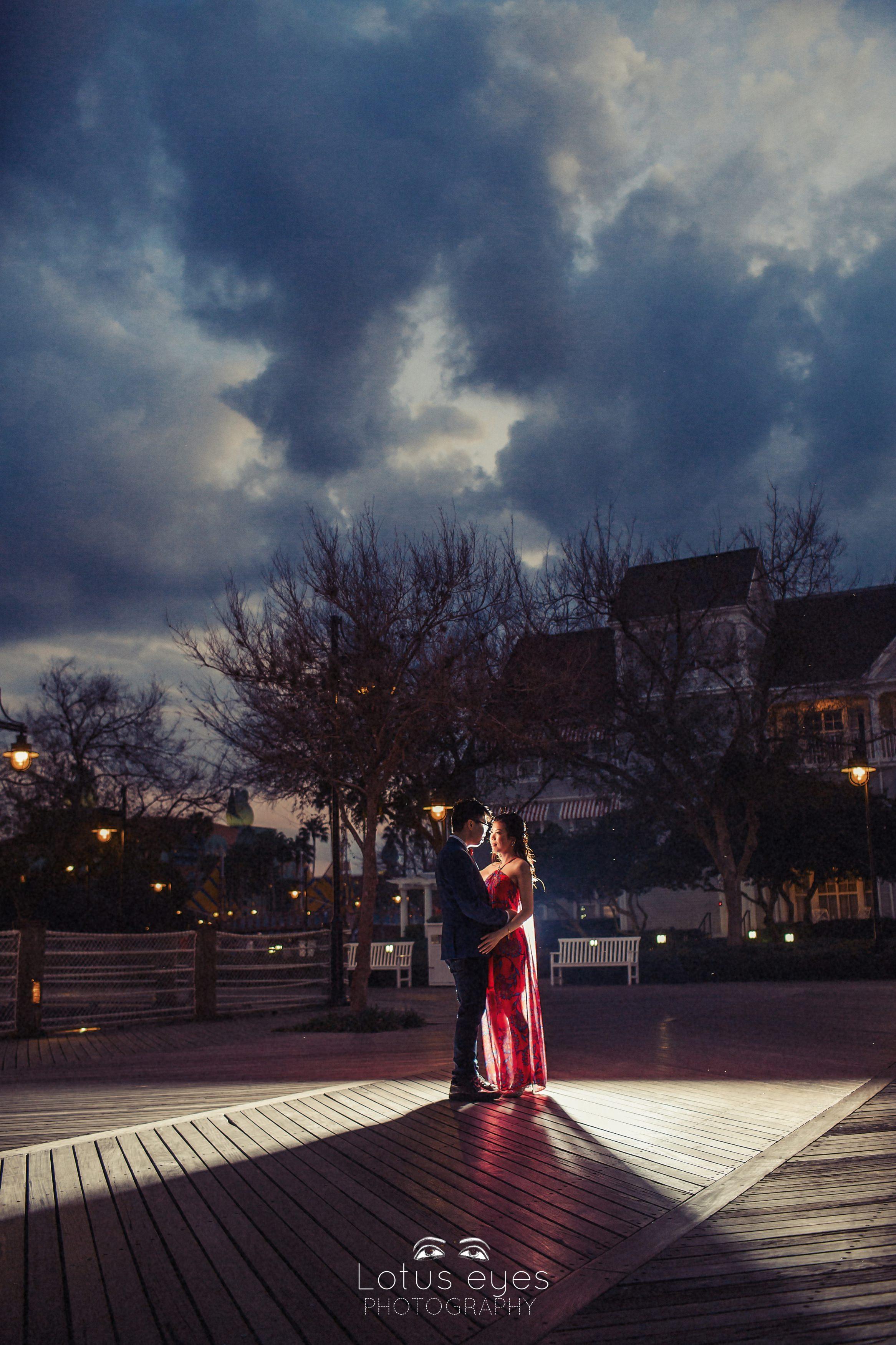 Valentines Day Disneys Boardwalk Engagement
