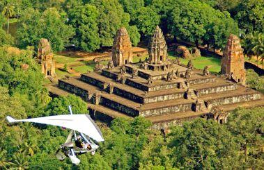 Microlight Flights Cambodia