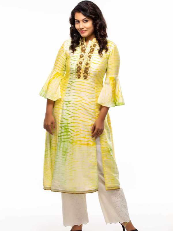 Party Wear Shibori Kurti