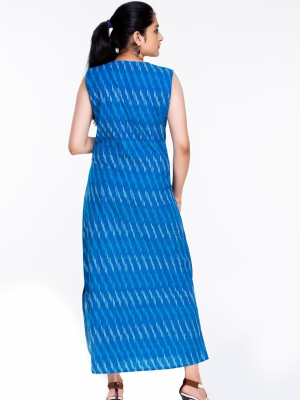 Ikat long dress
