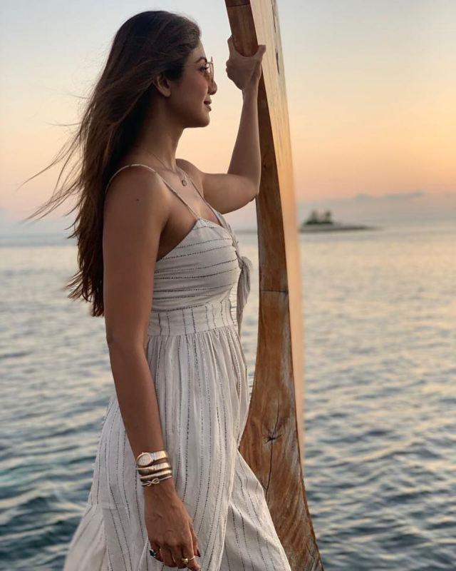 Shilpa Shetty Casual Dress