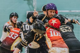 Lotus Photography Bournemouth Dorset Knobs Roller Derby Sports Phtoography 377