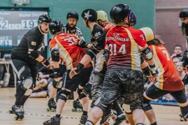 Lotus Photography Bournemouth Dorset Knobs Roller Derby Sports Phtoography 439