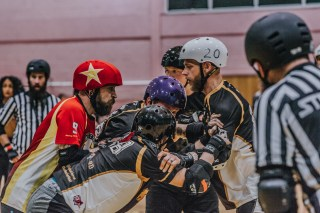 Lotus Photography Bournemouth Dorset Knobs Roller Derby Sports Phtoography 445